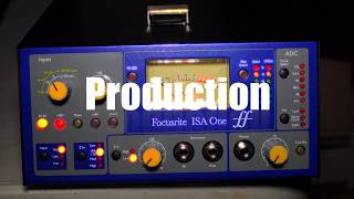 #Focusrite ISA One #preamp Critique and Review