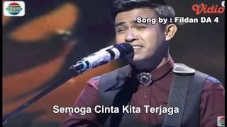 Wooww!! Indah dan Lembut nya suara Fildan DA 4 Lagu Tanpa Kamu with Lyrics