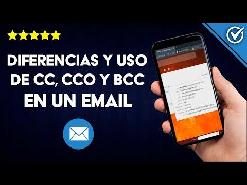 Qué Significa, Diferencias y Uso de CC, CCO y BCC en un Correo Electrónico
