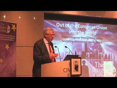 Graham Stringer MP (Labour) at Bruges Group