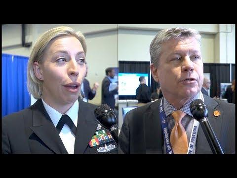 US Navy SPAWAR's Cosman, DeForest on Visual Information Display System D