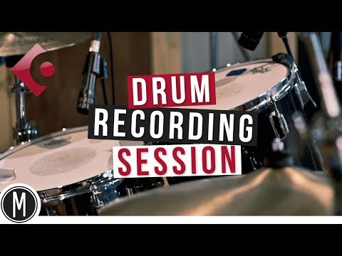 DRUM RECORDING SESSION in Cubase 9.5 – mixdown.online