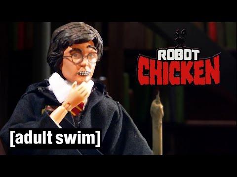 Classic Hogwarts Moments Robot Chicken Adult Swim Youtube