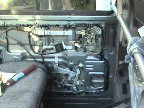 Auto Wiring Diagram Of Wind Engine Nissan Vanette Side Slide Door Actuator Mechanism - Youtube