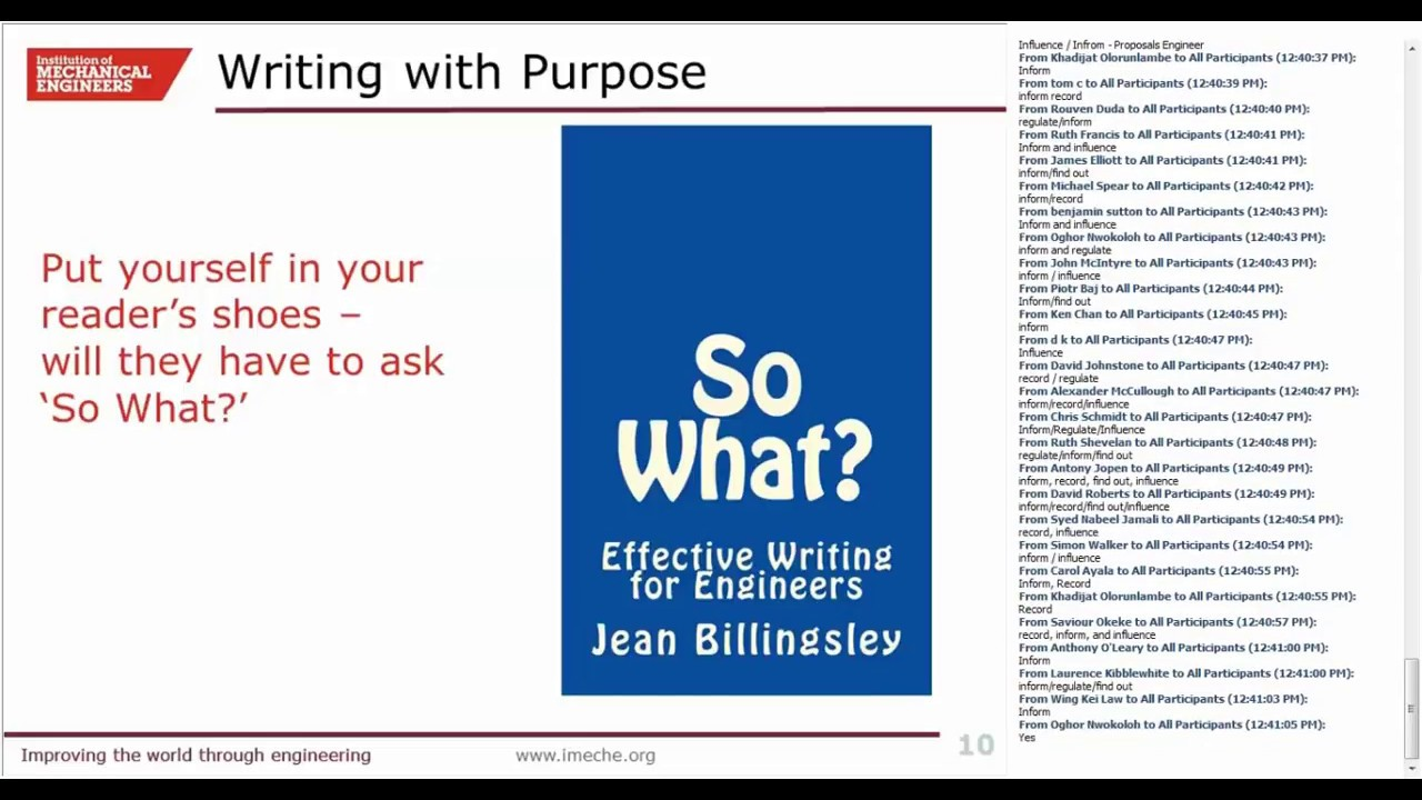 Practical Writing Tips For Engineers Purpose Punctuation