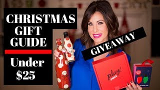 Christmas 2018 | Women's Gift Guide Under $25  plus a GIVEAWAY