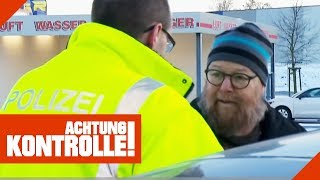 Dreist die Polizei überholt! Mann redet sich raus! | Achtung Kontrolle | kabel eins