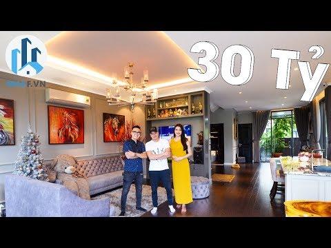 """Khám Phá Biệt Thự Song Lập Ca Sĩ """"CAO THÁI SƠN"""" tại Lavila Kiến Á Nam Sài Gòn - NhaF [4K]"""