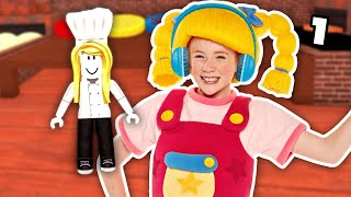 Roblox   Work At A Pizza Place With Mary EP1   Mother Goose Club Let's Play