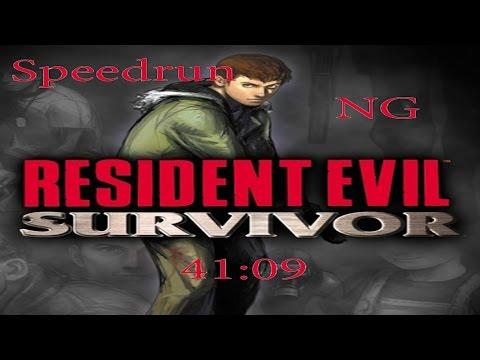 Resident Evil Survivor Speedrun (NG) 41:09