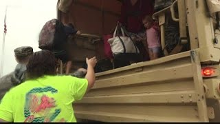 Residents Seek Shelter from Florence's Flooding in Marlboro County