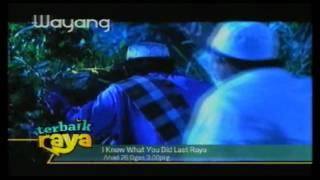 Promo I Know What You Did Last Raya (terbaik raya @ Wayang) @ Tv3! (26/8/2012 - 3 petang)