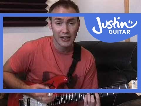 Sultans Of Swing - Dire Straits #1of4 (Songs Guitar Lesson ST-322) How to play