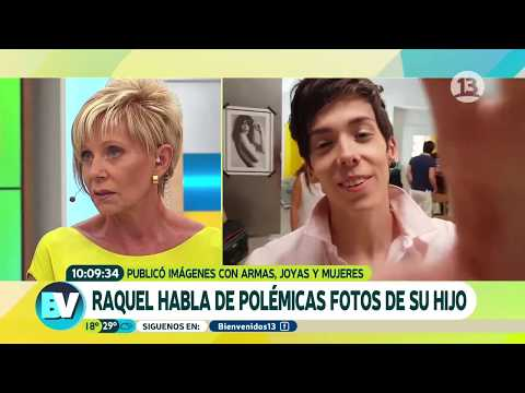¿Qué piensa Raquel de las polémicas fotos de su hijo? | Bienvenidos