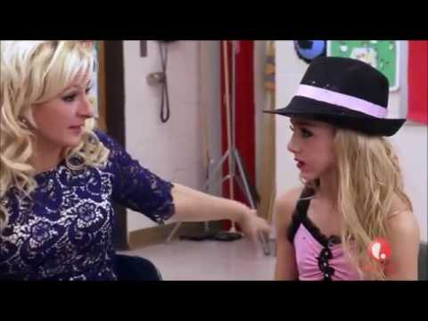 Dance Moms Chloe Drops Her Hat on Stage & Abby Yells at Her For it