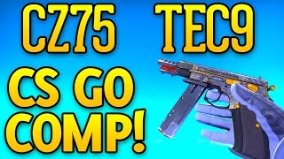 TEC9 and CZ75 ONLY FULL DMG GAME - CS GO Competitive