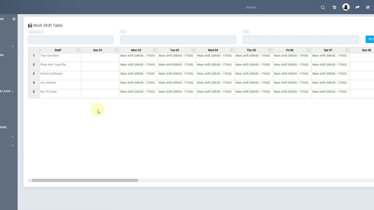 Perfex CRM Modules - Timesheets and Leave Management - Attendance Management Null