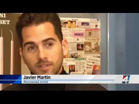 TV Segment / Spanish Artist Javier Martin Exploring the True Meaning of Blindness with Dr.Gulani
