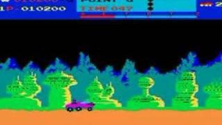MOON PATROL arcade game by Irem 1982 retro oldskool video game