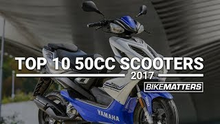 Top 10 50cc Scooters of 2017 | BikeMatters