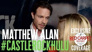 Matthew Alan interviewed at the premiere for S2 of Castle Rock on Hulu #CastleRock #Hulu