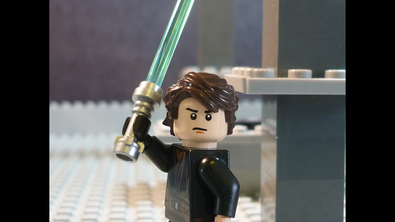 Lego star wars episode iii anakin skywalker obi wan kenobi vs count dooku youtube - Vaisseau star wars anakin ...