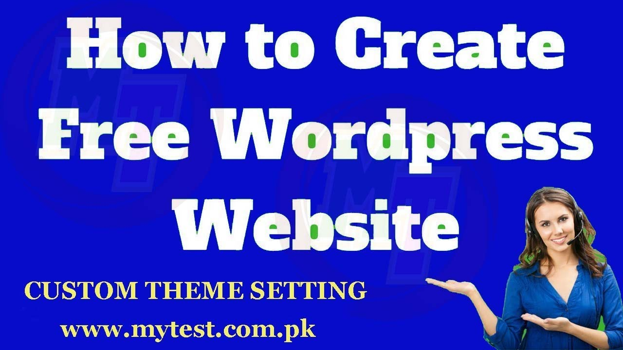 How to create free WordPress website with free domain part 3