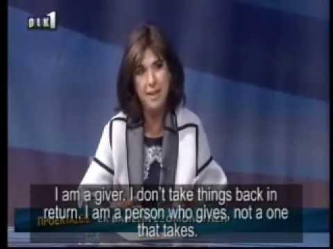 Proektaseis- Tasoula Hadjitofi - CYBC. RIK with Yiannis Kareklas - English subtitles