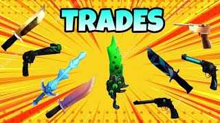 Roblox: HOW to MAKE TRADE/Exchange in 2 MURDER MYSTERY by PHONE!! (Murder Mystery)