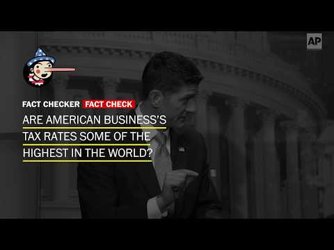Fact Check: Are American business's tax rates some of the highest in the world?