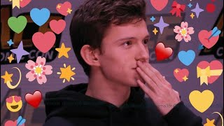 Tom Holland being the cutest human for 18 minutes straight