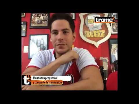 Christian Chavez em Facebook Live para o Diario Trome (20/11/2017)