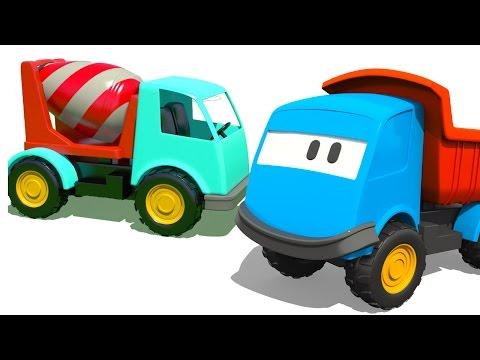 Сборник мультфильмов: ГРУЗОВИЧОК ЛЕВА ВСЕ СЕРИИ. Строительная техника и Большие Рабочие Машины