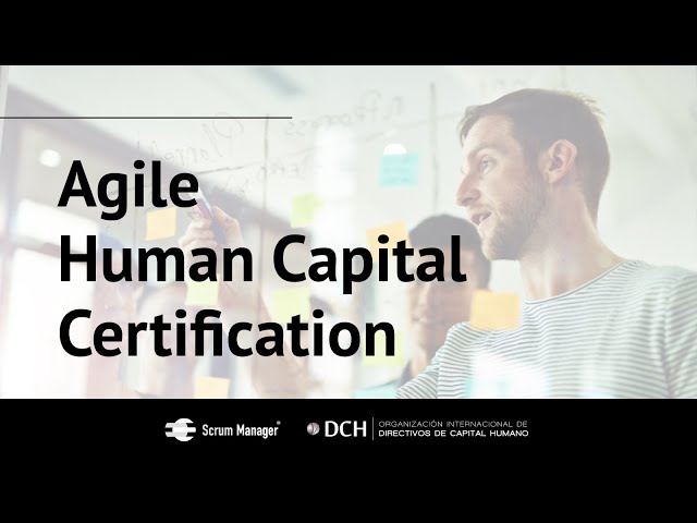 Agile Human Capital Certification