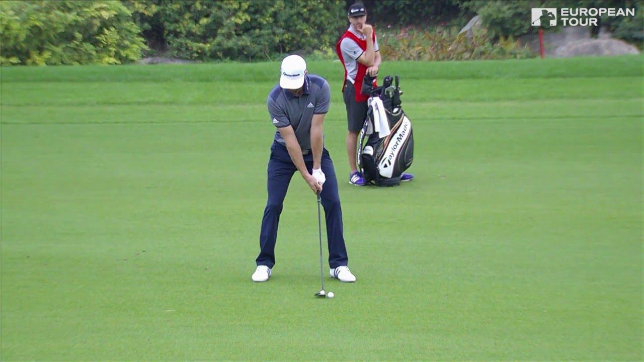 Dustin Johnson Slow Motion Golf Swing Fairway Wood