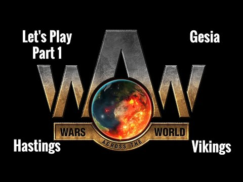 Let's Play Wars across the World Hastings as Vikings Part 1 Expert |