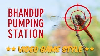 Bhandup Pumping Station - Video Game Style Photography Vlog | Photography Ideas | Sonika Agarwal