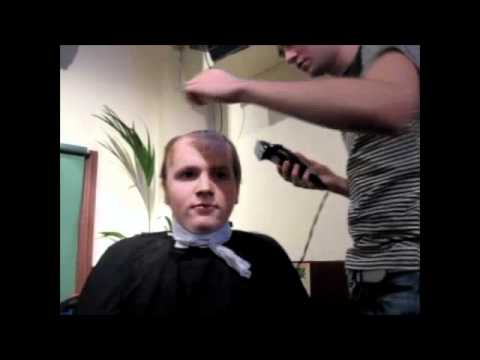 Aidan McArdle's Head Shave