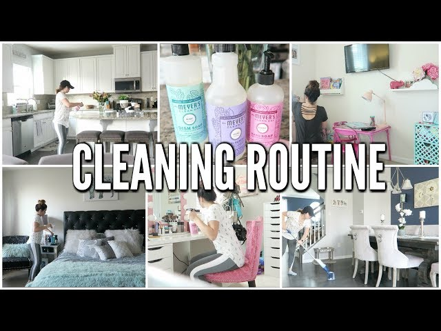 MY CLEANING ROUTINE | CLEANING MOTIVATION!! NEW HOUSE 2018