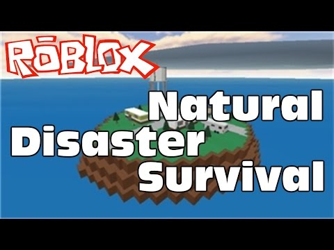 Roblox (Minecraft like) Virtual World Gameplay in Windows 10 – Natural Disaster Survival