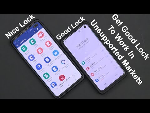 How To Get Good Lock 2019 To Work On Any Unsupported Samsung Device Running One UI