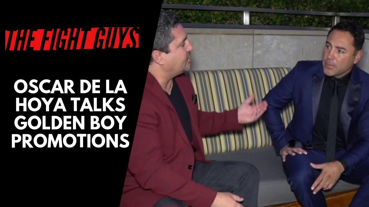Oscar De La Hoya Interview for Forbes - YouTube
