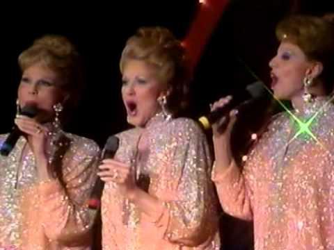 The McGuire Sisters perform LIVE on Jukebox Saturday Night