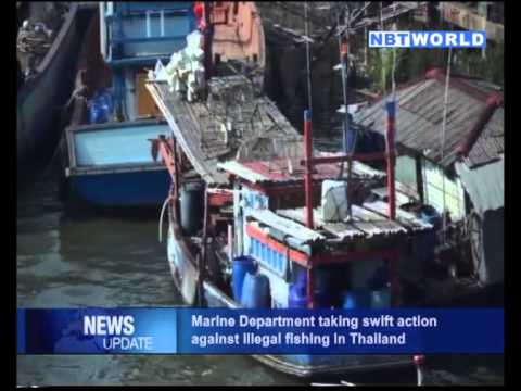 Marine Department Taking Swift Action Against Illegal Fishing in Thailand
