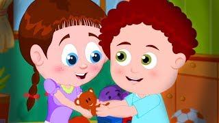 Sharing Is Caring | Schoolies Nursery Rhymes | Cartoons for Kids