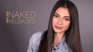 """UD """"Naked Reloaded"""" Palette Look With Natalie   مكياج بباليت نيكد ريلودد مع ناتالي"""