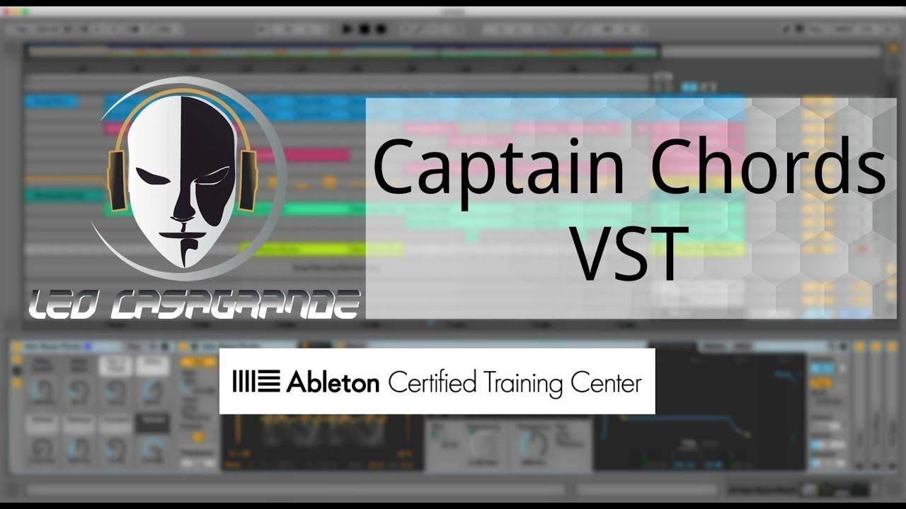 Captain Chords - VST de progressão de acordes, melodias e basslines