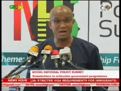 Accra: 1st National Policy Summit launched