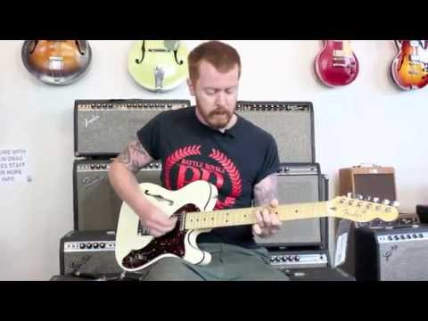 2013 Fender American Deluxe Telecaster Thinline Demo