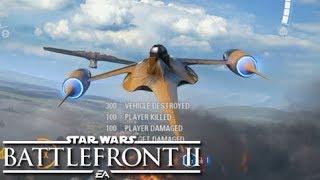 Naboo Starfighter - Best looking starfighter in the universe - Star Wars Battlefront 2